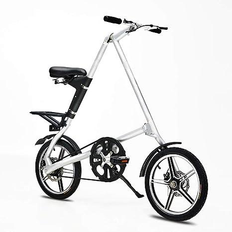 XWDQ 16 Pulgadas De Aleación De Aluminio Plegable Bicicleta ...