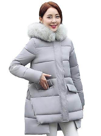 Queenshiny® Damen Down Baumwolle Mantel Daunenjacke Jacke