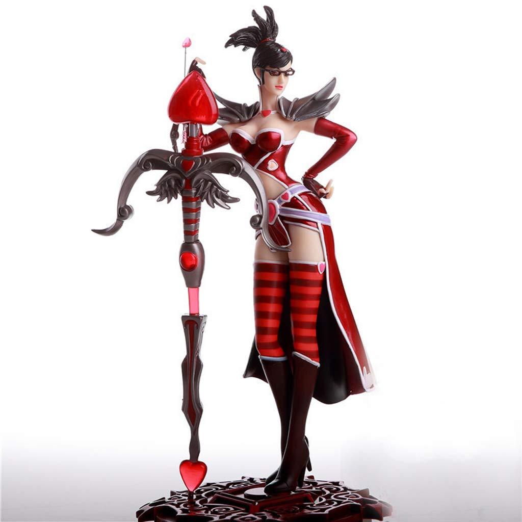 JJJJD Anime Spiel Modell Spielzeug Dekoration LOL League of Legends Nacht Hunter VN Statue Geschenk Sammlung Souvenir Urlaub Geschenk Spiel Anime Lovers (ca. 25 Mt)