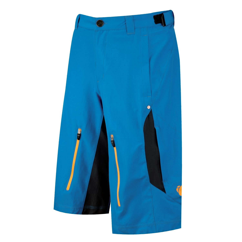 Pearl Izumi Men's Launch Shorts, Mykonos Blue/Black, X-Large