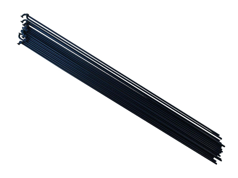 argent ou Noir de v/élo rayons en acier inoxydable /298/mm cnSPOKE CN Lot de 18 longueur: 250/mm/