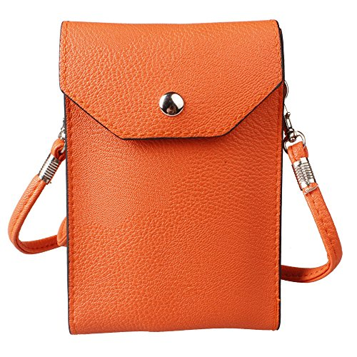 xhorizon TM ZA5 Universal 6 inch Leather Messenger Bag Traveler Pouch Shoulder Purse Wallet Case For iPhone 4/4S/5/5C/5S iPhone 6 iPhone 6 Plus Samsung S3/S4/S5/S6/S6 Edge HTC One M7 M8 M9 LG G2/G3/G4/L70/L80/L90 Motorola X Blackberry Nokia Lumia Sony Xperia Z1/Z2/Z3/Z3 Compact/Z4 (Abc 13 Days Of Halloween)
