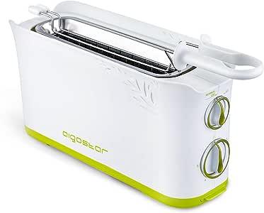 Ranura XL Con Capacidad para dos Tostadas Cecotec Tostadora Toast/&Taste 1L