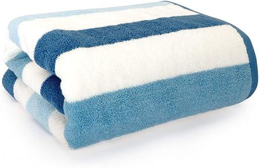 YING 22 Toalla baño algodón Gris Microfibra Grande suavidad ...