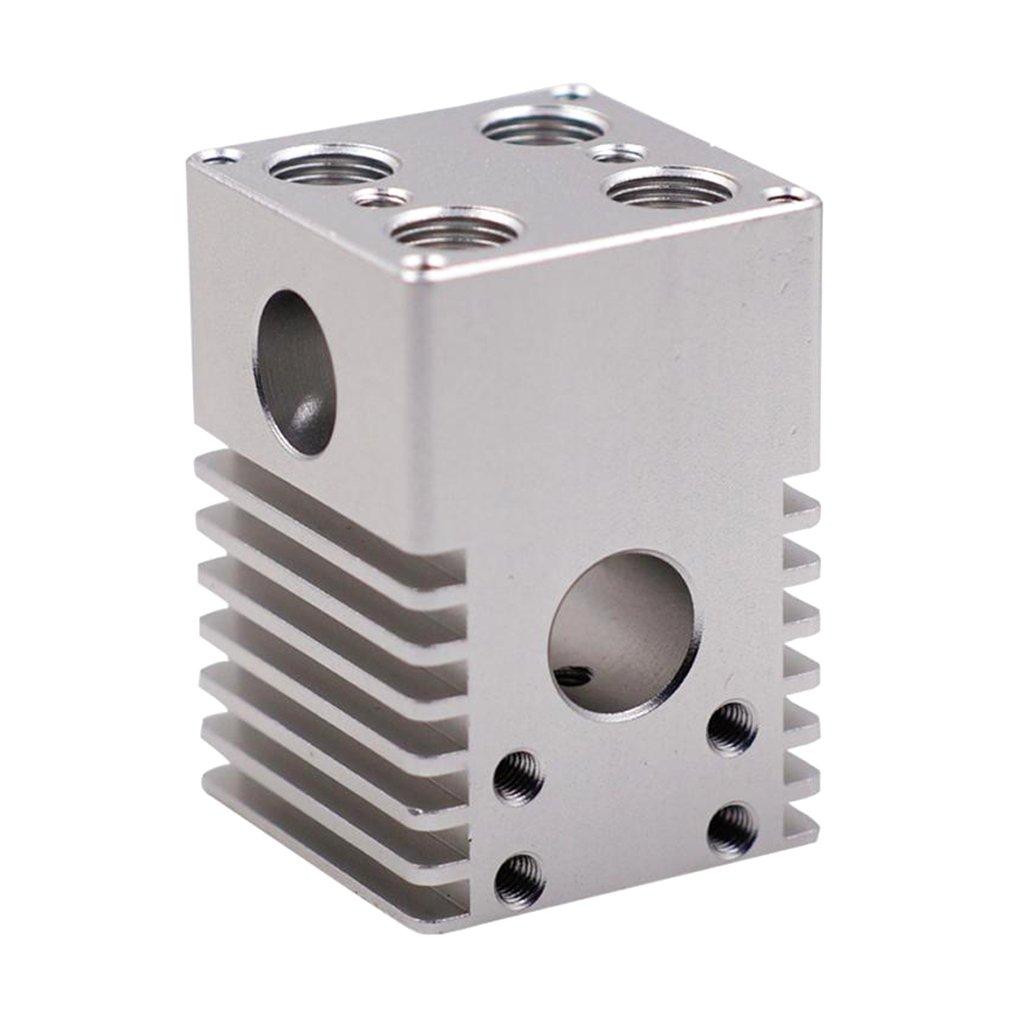 Fityle 1Piece Silver 3D Printer Parts Ultimaker2 Aluminum