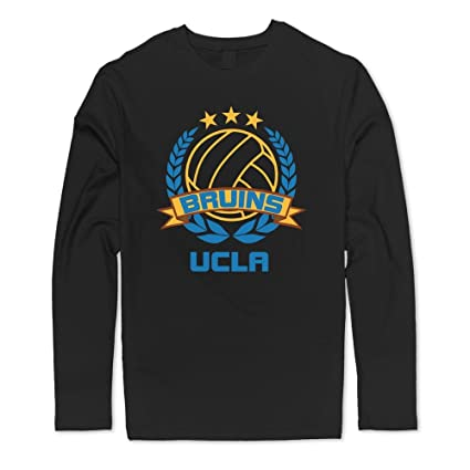 new product c0e40 a9bce Amazon.com : Cool 100% Cotton UCLA Bruins Volleyball Logo T ...