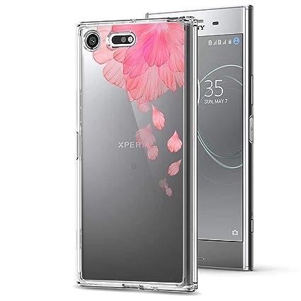 ocketcase Sony Xperia XZ Premium Funda, TPU Carcasa Suave Silicona Flexible Gel Funda Resistente a los Arañazos Tapa Protectora Case Cover para Xperia ...