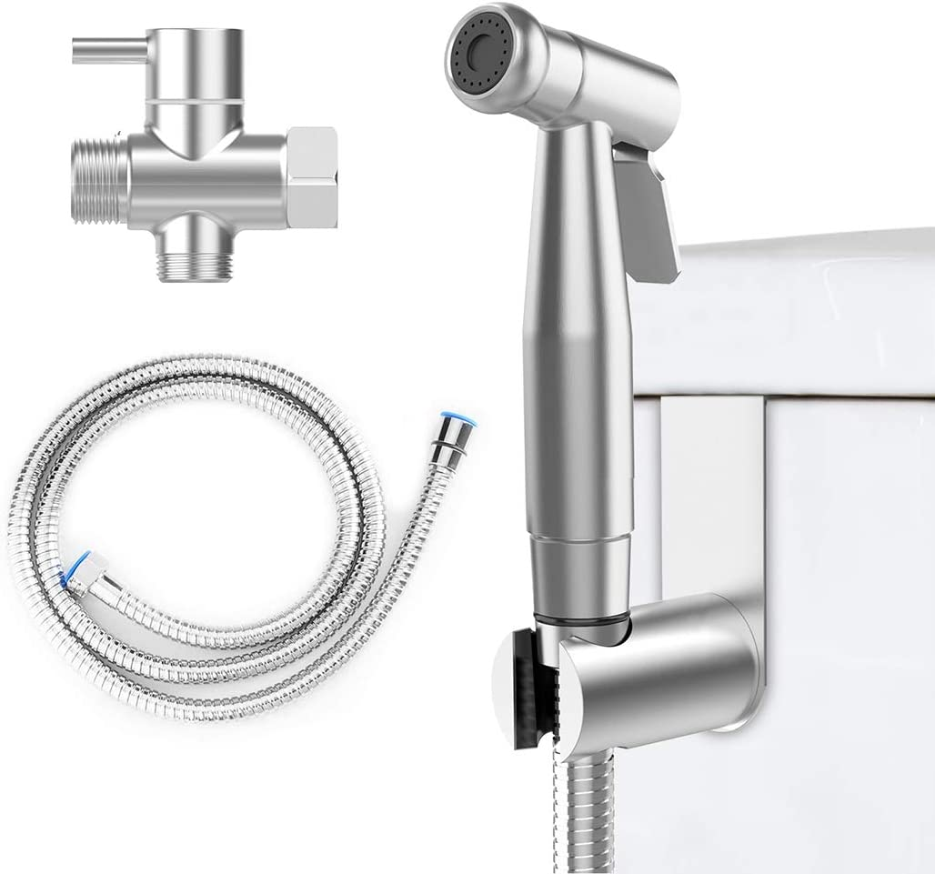 Eigso Handheld Bidet Sprayer Complete Premium Stainless Steel Bathroom Shattaf Sprayer Best Used For Personal Hygiene Potty Toilet Spray Eigso 002 Amazon Com