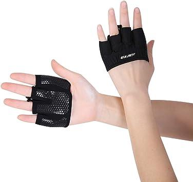 Klimmzug zum Bodybuilding Nano Hertz Gym Fitness Handschuhe Atmungsaktive rutschfeste Trainingshandschuhe Gewichtheben Handschuhe mit Palm Schutz Cross Training und Kraftsport f/ür Herren und Damen