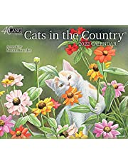 LANG Cats in The Country 2022 Wall Calendar (22991001899)