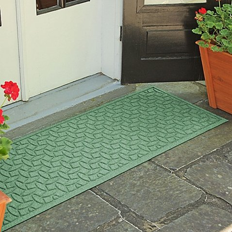 Weather Guard Ellipse 22-Inch x 60-Inch Door Mat | Easy to clean, making it the perfect solution to high-traffic areas (LIGHT - Marketplace Centre Ridge
