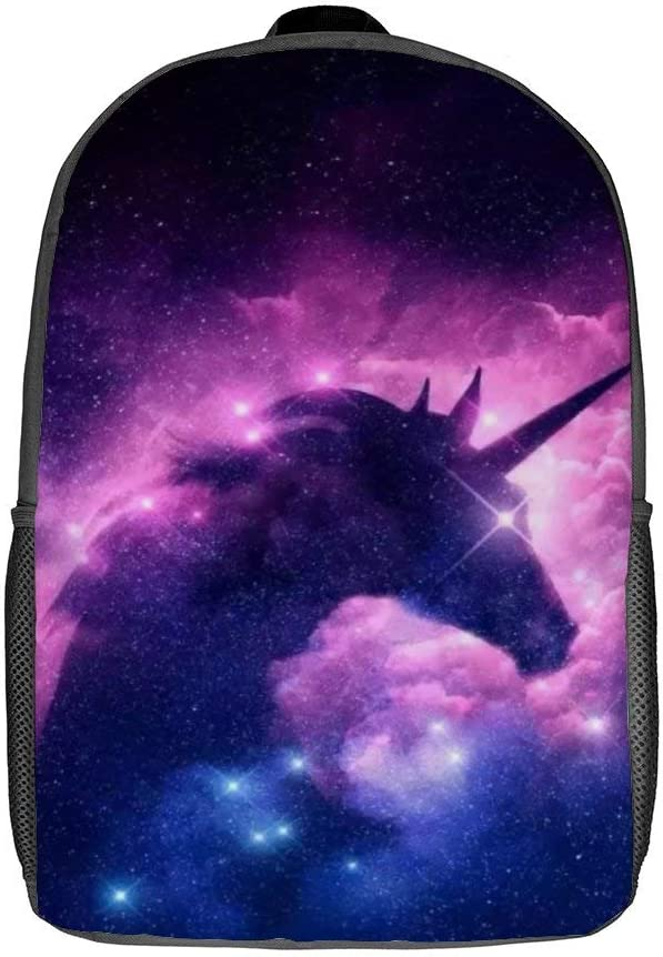 Backpack Unicorn School Backpack Bookbag Lightweight Galaxy Laptop Backpack