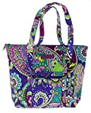 Vera Bradley Villager Handbag Shoulder Bag Tote in Heather