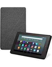 $82 » Fire 7 Essentials Bundle including Fire 7 Tablet (Black, 16GB), Amazon Standing Case (Charcoal Black), and Nupro Anti-Glare Screen Protector
