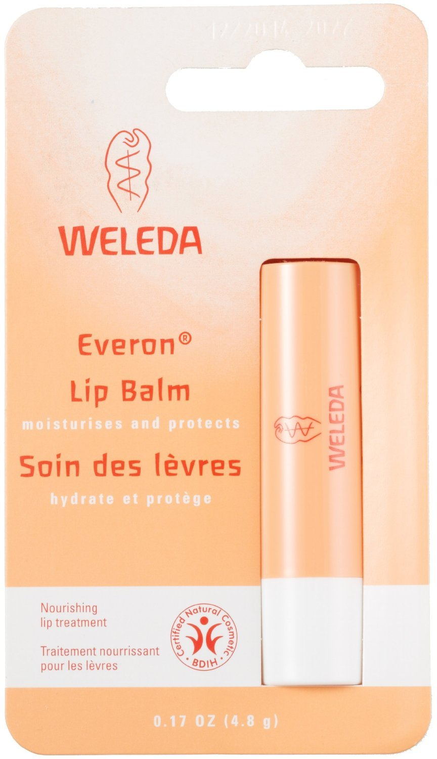 Weleda Everon Lip Balm, Soin Des Levres - 0.17 Oz Australian Gold Face Guard Sunscreen Stick SPF 50+ 0.50 oz (Pack of 6)
