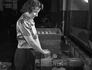 Boston Factory 1942 Nrita Allen Working In The Gillette Factory In Boston Massachusetts Photograph By Howard R Hollem 1942 Poster Print by (24 x 36)