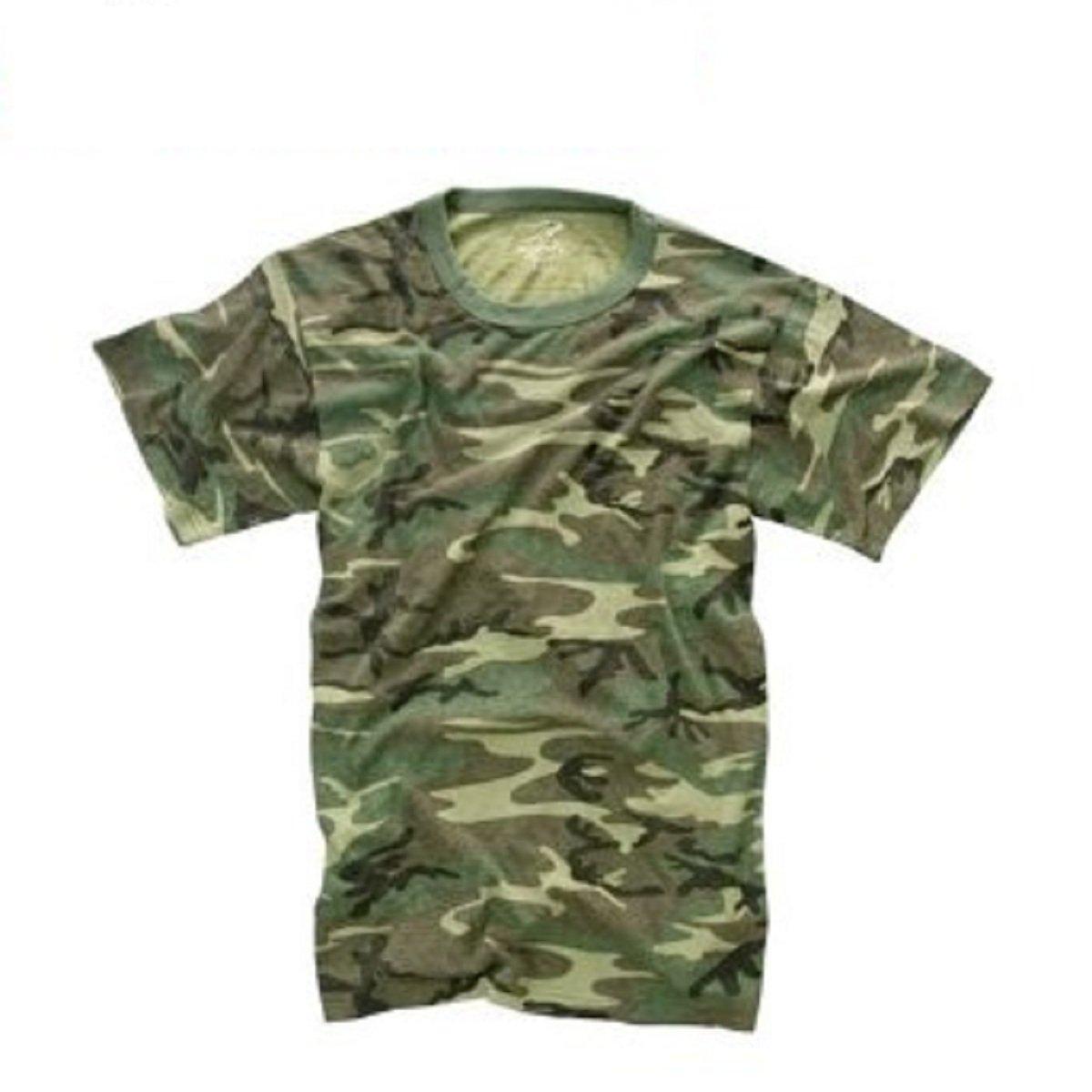 Vintage Woodland Camo T-Shirt WdlndCamo-M
