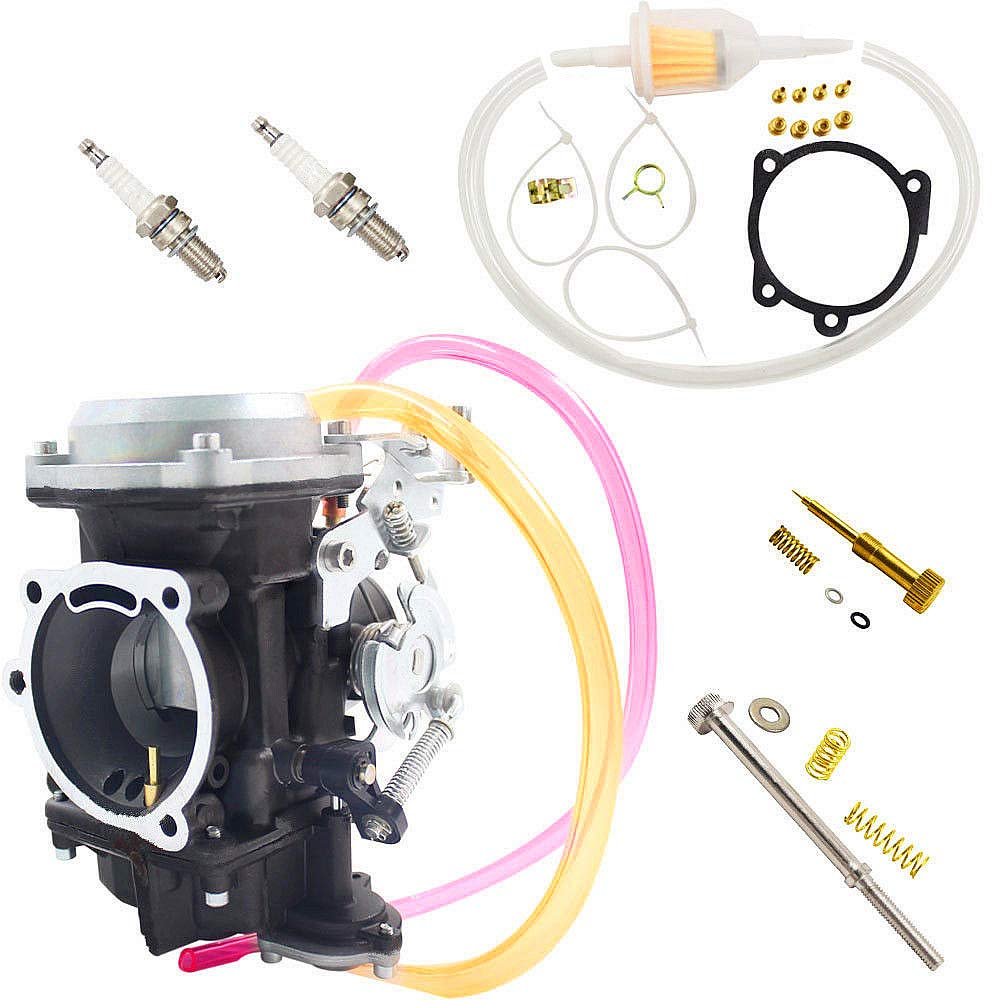iFJF Carburetor for Harley Davidson sportsterxl 883 40MM CV Carburetor Performance Tuned idel Screw
