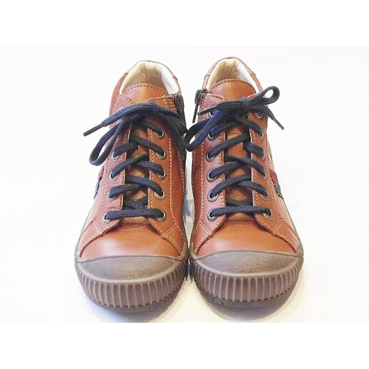 Bopy Viorn Brown Leather High Top Boots With Easy Zip Fastening & Scuff  Protection: Amazon.co.uk: Shoes & Bags