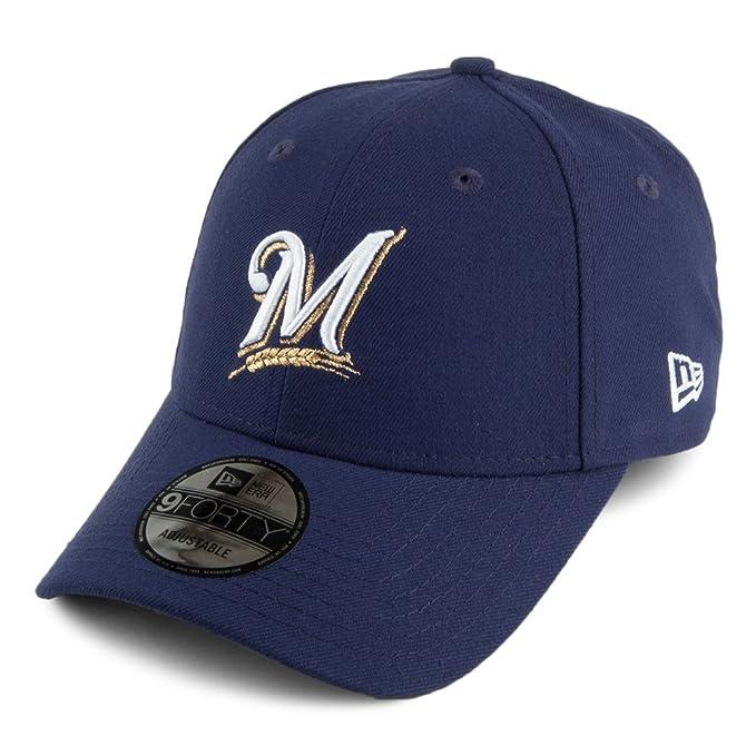 Gorra béisbol 9FORTY League Milwaukee Brewers New Era - Azul Marino -  Ajustable  Amazon.es  Ropa y accesorios 4ad9fceb9c9