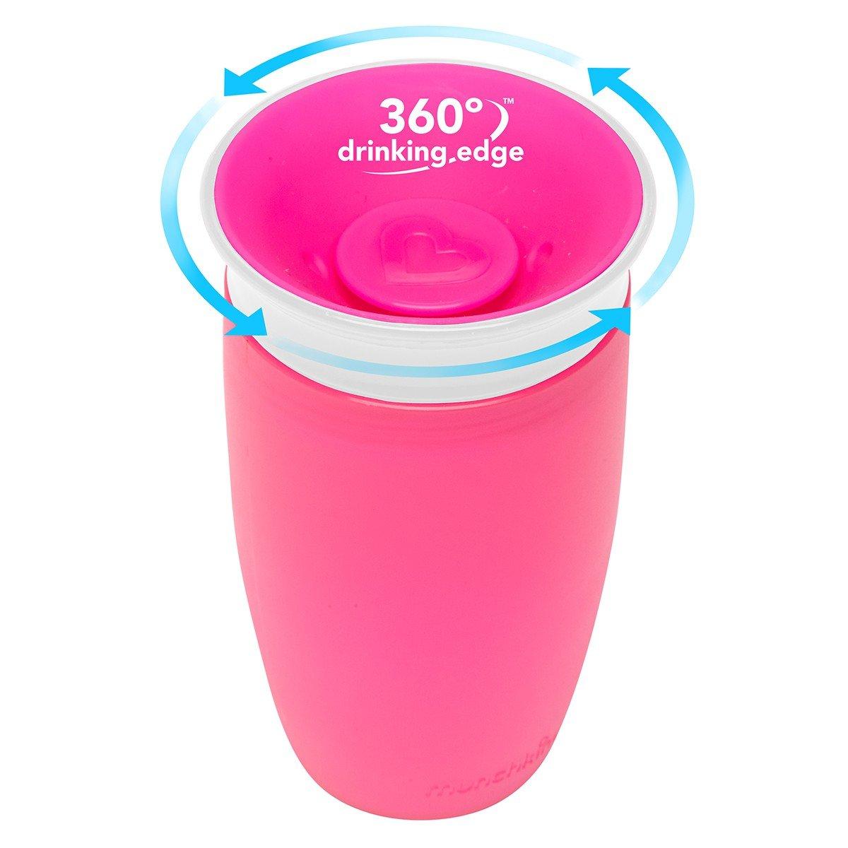 Rose Munchkin Tasse Petites Gorg/ées 360 Miracle