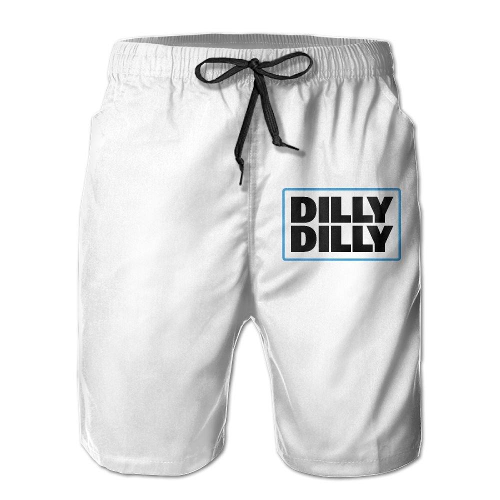 Alphach Dilly Dilly Mens Board Shorts Beach Swim Trunks Beachwear Athletic Gym Trunks