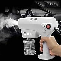 Electric ULV Sprayer Portable Fogger Machine,Nano Steam Gun Spray Machine with Blue Light 1200W 260ML,Ultra Fine Atomizing Sprayer Car Hospital School,Disinfection,Humidification And Cleaning