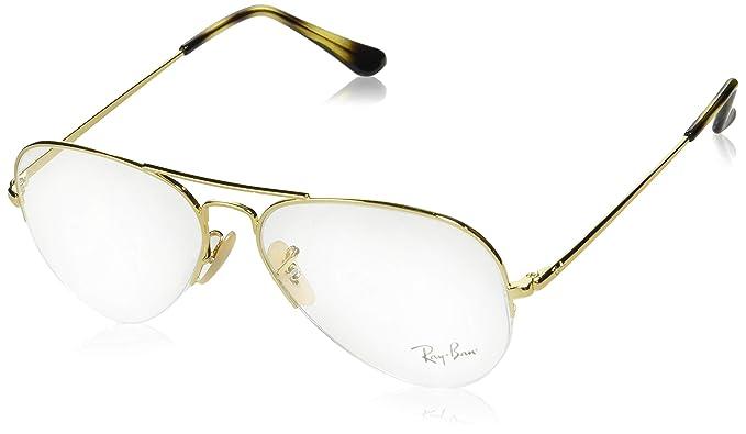 Großhandelspreis beispiellos Online-Einzelhändler Ray-Ban rx6589 Brille in gold RX6589 2500 56: Amazon.de ...