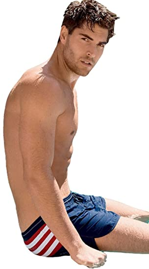 Mens Jockey USA Originals Athletic Sport Swim Shorts 67603