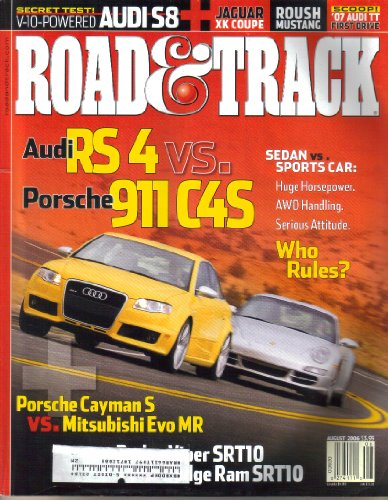 (Road & Track Magazine, Vol. 57, No. 12 (August, 2006))