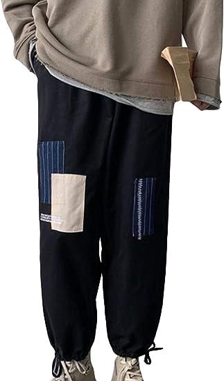 Aisaidunジーンズ メンズ プルオーバー グラデーション ワイドパンツ ファッション メンズ 大きいサイズ 九分着 通勤 通学