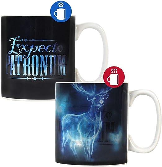 Amazon.com: Harry Potter patronus calor taza (cambia: Home ...
