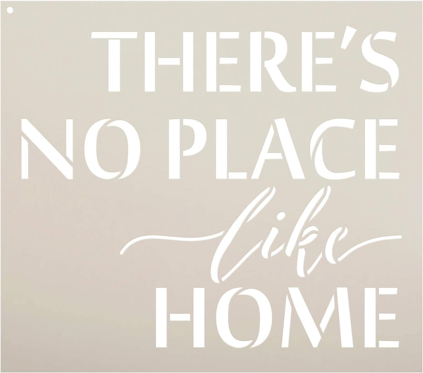 There's No Place Like Home - Word Stencil - 7