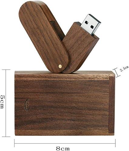 Garrulax Memoria USB, Pendive USB 2.0, Premium Madera Maciza ...