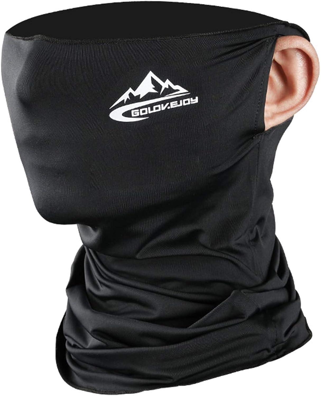 Cooling Ear Loops Neck Gaiter Bandana Mask Face Scarf Balaclava for Men & Women
