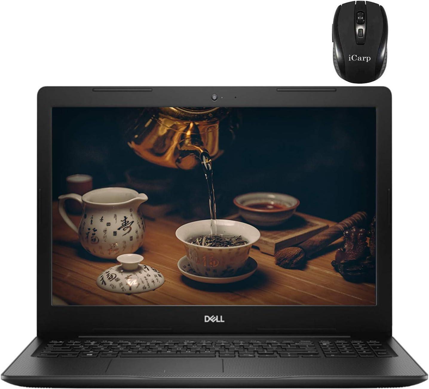 "Dell Inspiron 15 3000 2020 Flagship Laptop 15.6"" HD Anti-Glare Display 10th Gen Intel Core i3-1005G1 (> i5-7200U) 8GB DDR4 128GB SSD MaxxAudio Pro USB-C Win 10 + Delca 16GB Micro SD Card"