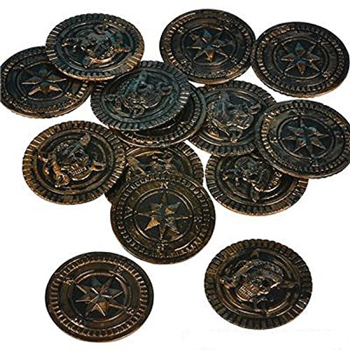 Coin Halloween Costumes (PIRATE COINS. 144 PIECES.)