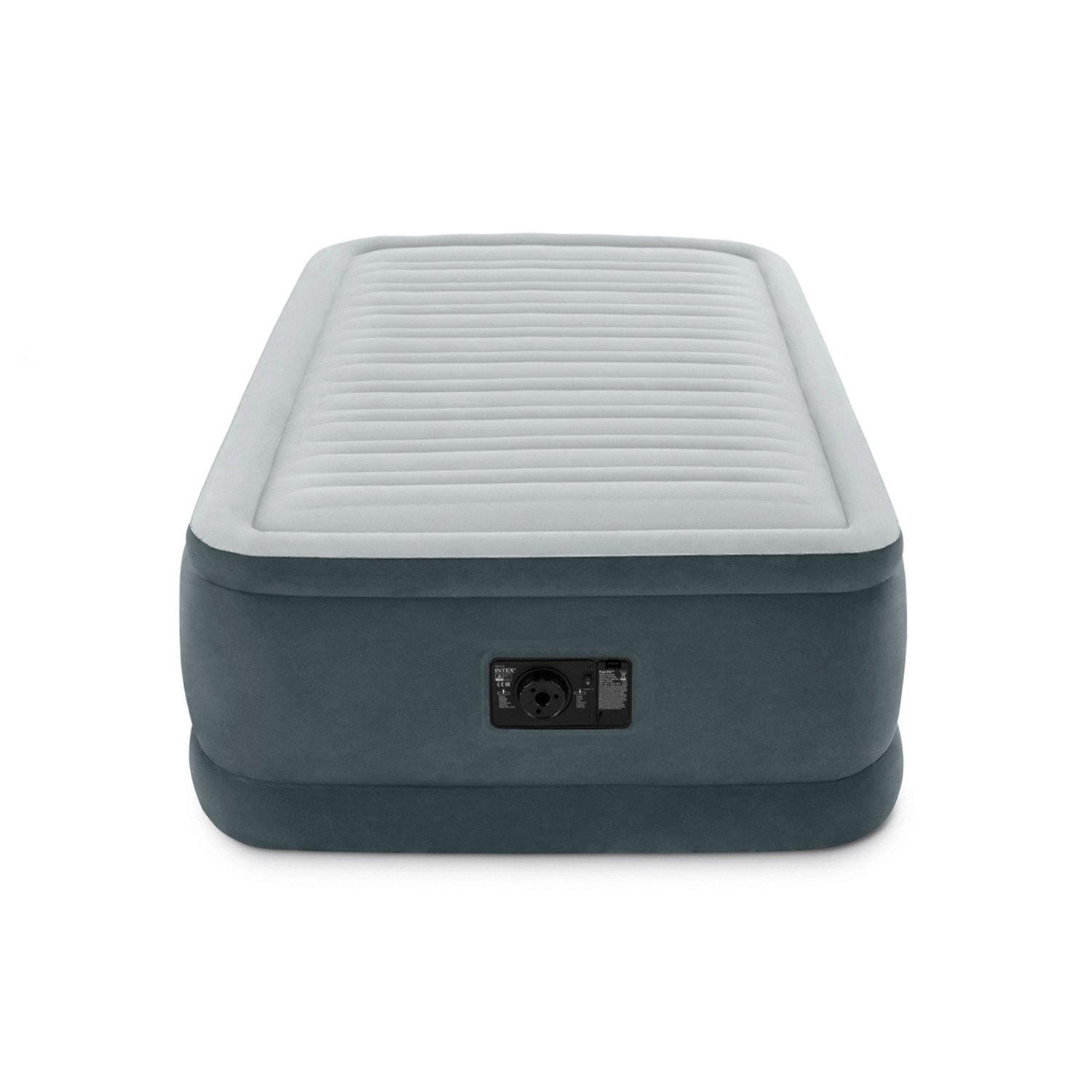 Intex Comfort Plush Elevated Dura-Beam Airbed with Built-in Electric Pump, Bed Height 18'', Twin by Intex (Image #2)