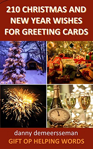 210 christmas and new year wishes for greeting cards gift of 210 christmas and new year wishes for greeting cards gift of helping words book 3 m4hsunfo