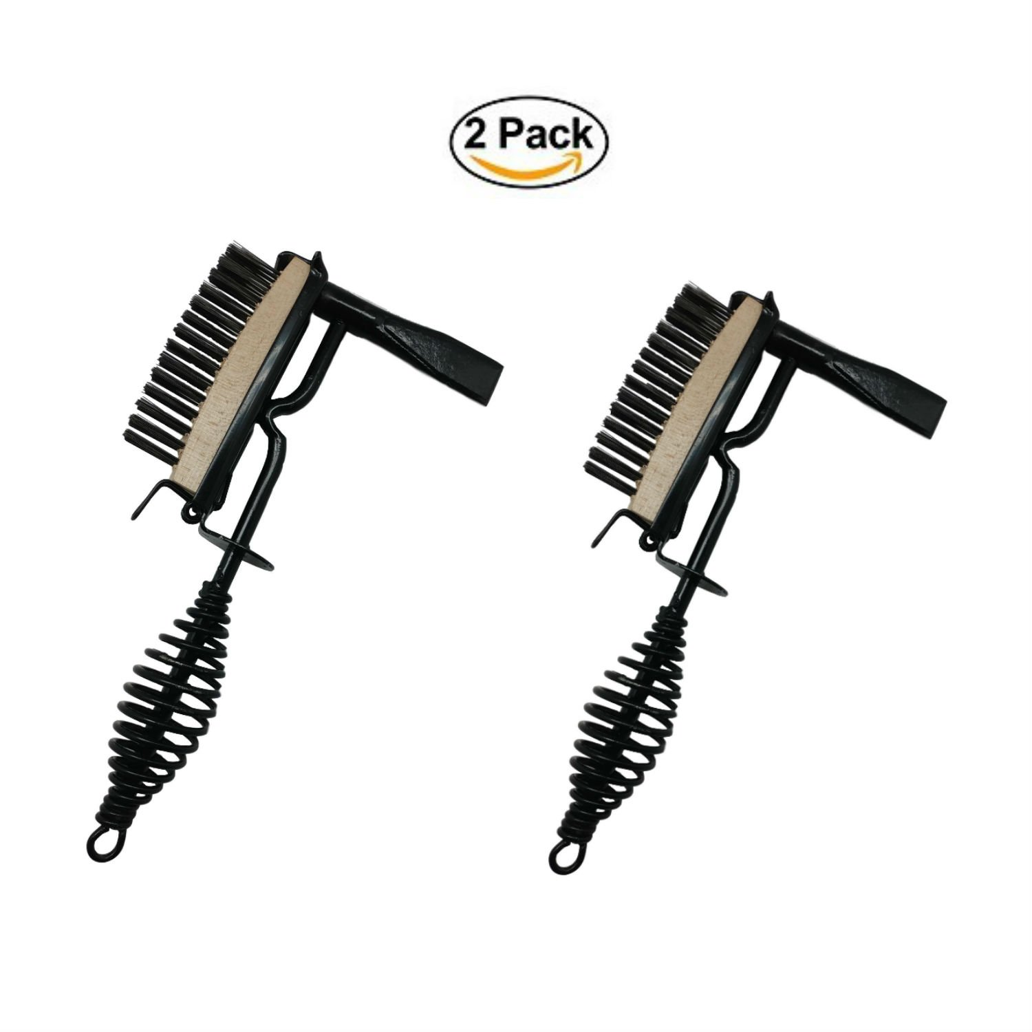 Timco Tools Welding Chipping Hammer and Brush, Set of 2 | Welding Tool with Welding Wire Brush