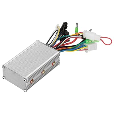 Vbestlife E-Bike Speed Controller, 36V/48V 350W Electric Motor Controller Brushless Motor Speed Controller for Electric Bicycle Scooter : Sports & Outdoors