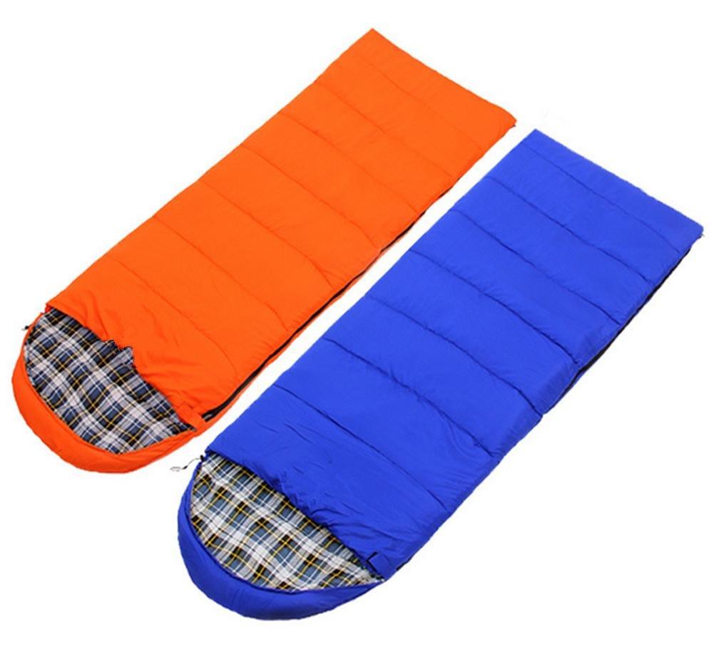 SHUIDAI Plein air camping sacs de couchage déjeuner pause double , bleu  -
