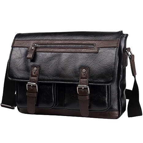 Amazon.com: Para hombre bolso de hombro Crossbody Bolsa ...