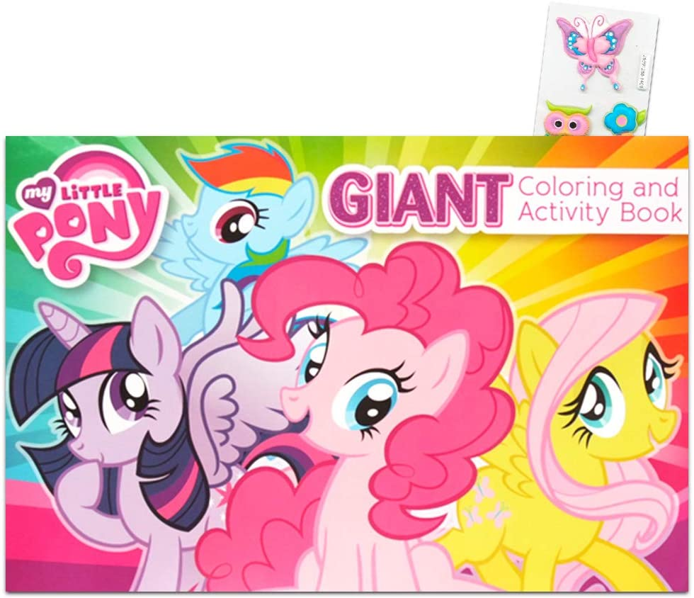 - Amazon.com: My Little Pony Giant Coloring And Activity Book: Toys