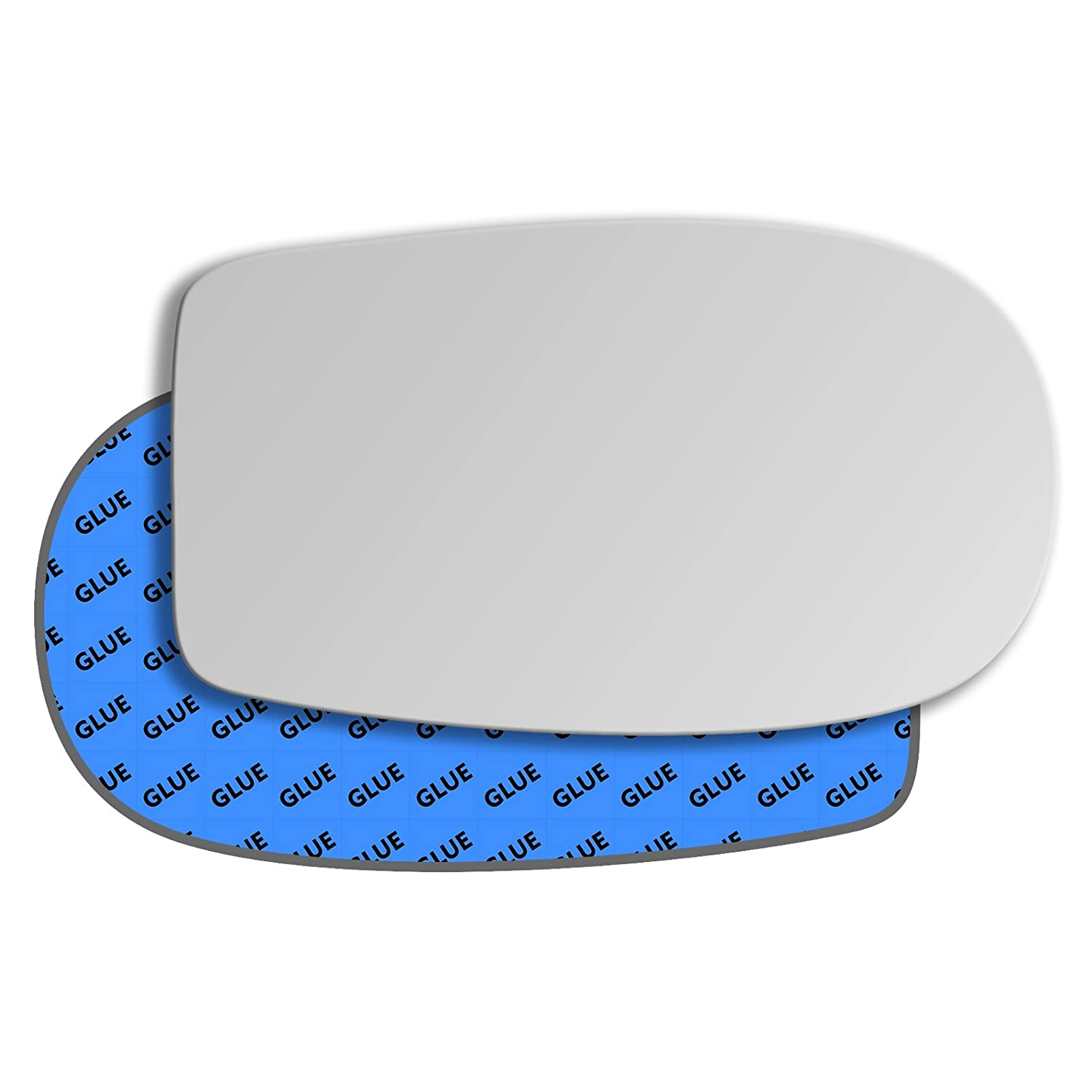 Hightecpl 74RS Right Driver Side Convex Door Wing Mirror Glass Channel Autoparts Limited