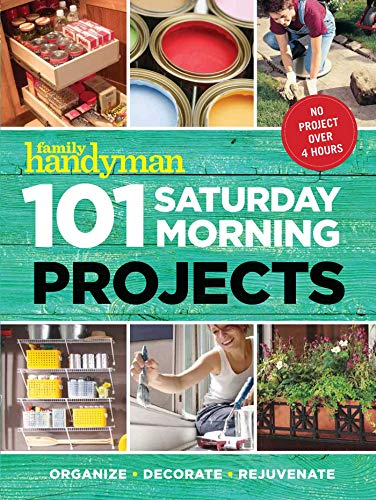 Book Cover: 101 Saturday Morning Projects