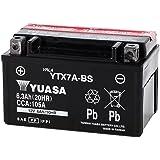 YUASA 台湾 ユアサ バイク用 バッテリー 液別 YTX7A-BS ( CTX7A-BS / GTX7A-BS / FTX7A-BS 互換 )