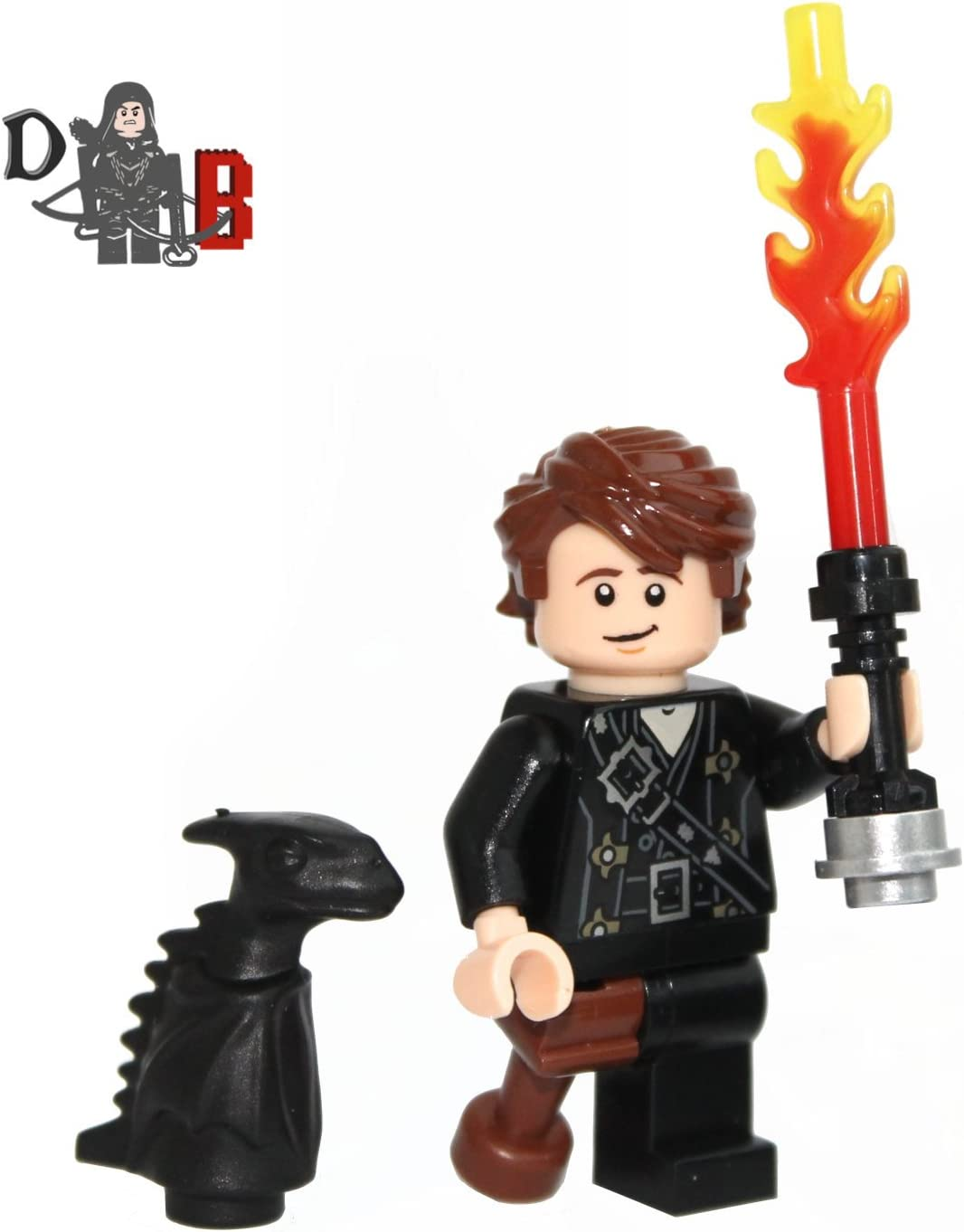 Amazon Com Custom How To Train Your Dragon 2 Hiccup Minifigure And Mini Toothless Toys Games