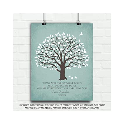 Amazoncom Thank You Gift From Son To Parents Personalized Gift For