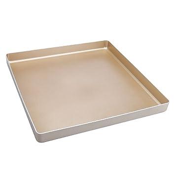 Molde para pan, molde de acero al carbono, bandeja para hornear sin pegamento: Amazon.es: Hogar